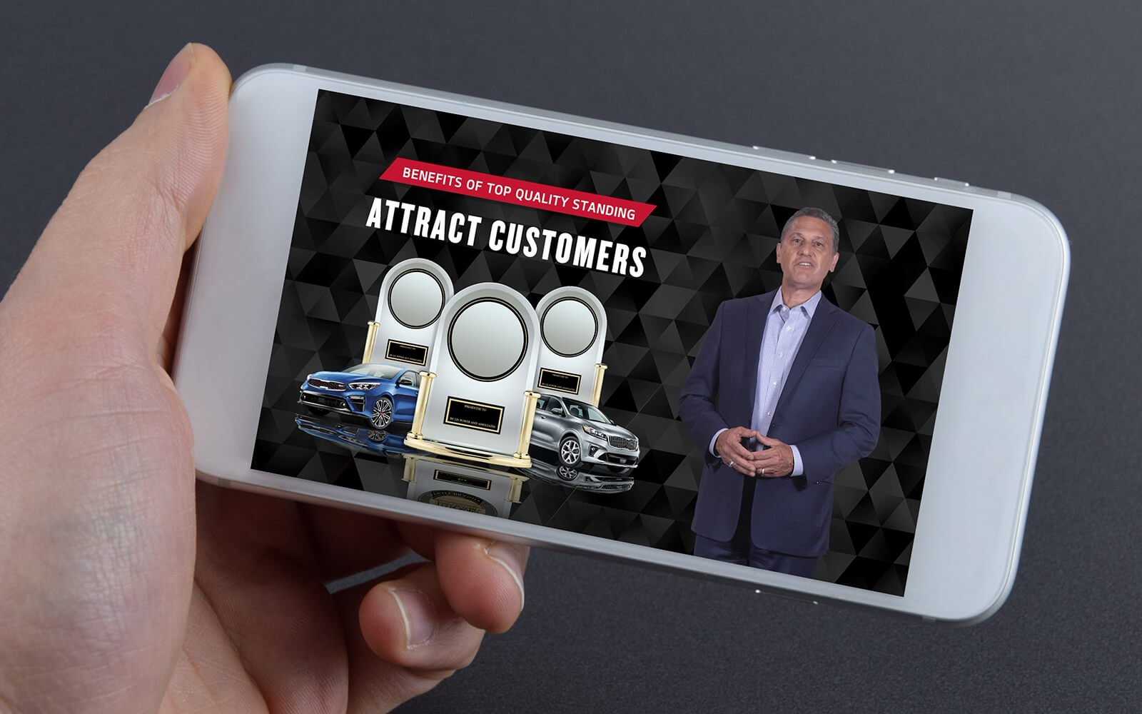Executive address video introducing quality goals